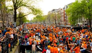 Festival Trips to Amsterdam for King's Day