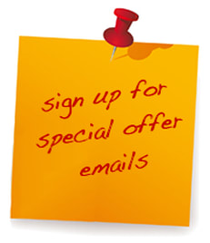 Sign Up For Special Offer Emails